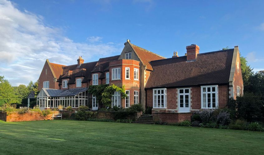 Extensive renovation of the property including several extensions, a bay window and an orangery.